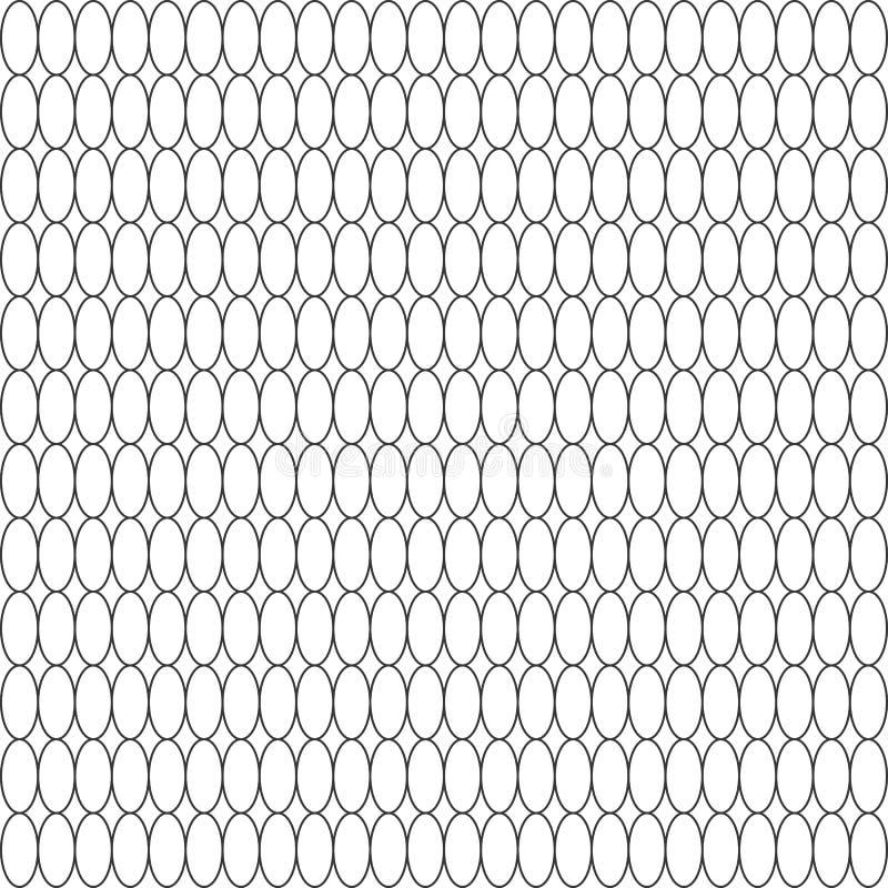 Oval texture - stock vector. Black oval texture – stock vector stock illustration