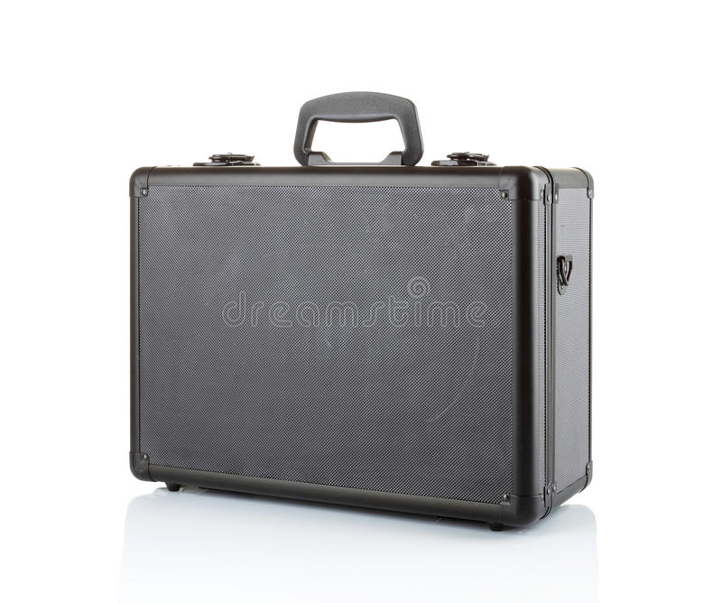 Download Black Padded Aluminum Briefcase Stock Image - Image: 21830077