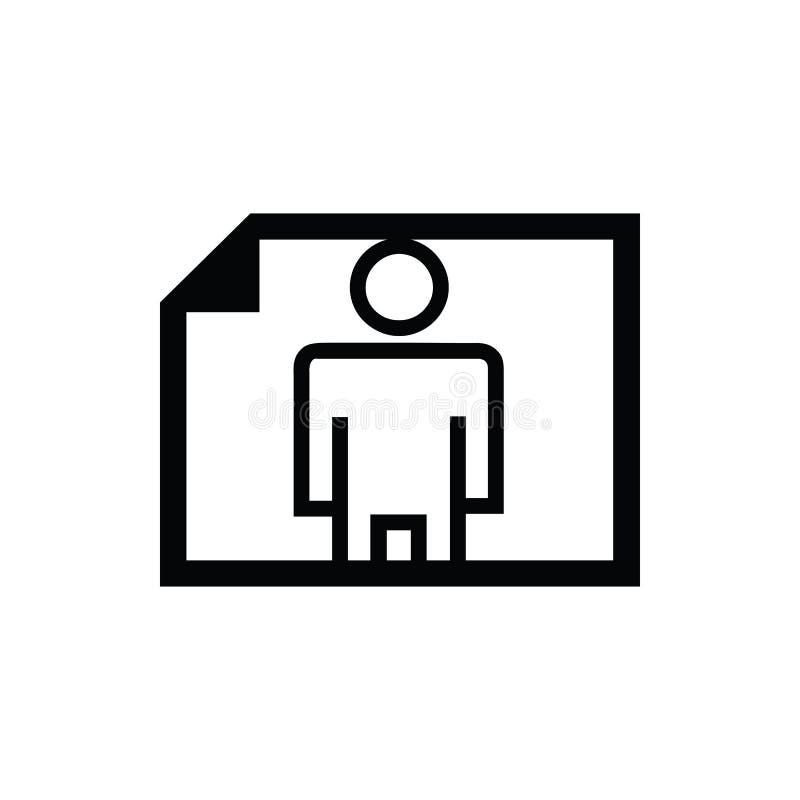 Black paper horizontal symbol for banner, general design print and websites. Illustration vector royalty free illustration