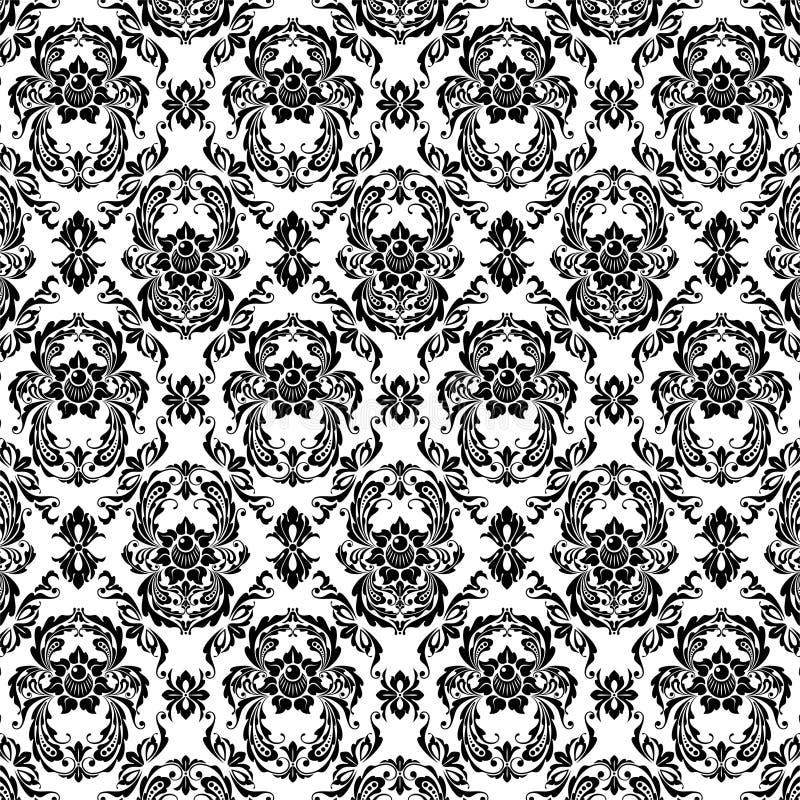 Download Black patterns stock vector. Image of openwork, element - 12404996