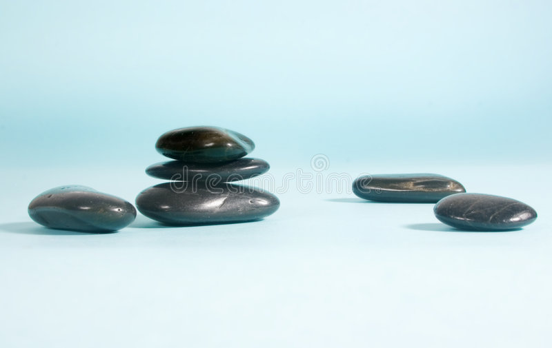 Download Black pebbles stock photo. Image of cyan, path, design - 102010