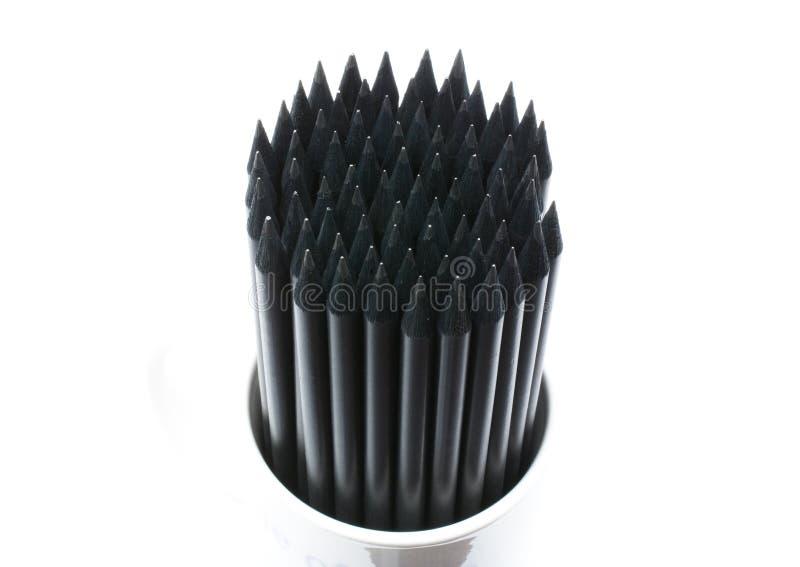 Download Black Pencils stock photo. Image of macro, drawing, closeup - 12527128