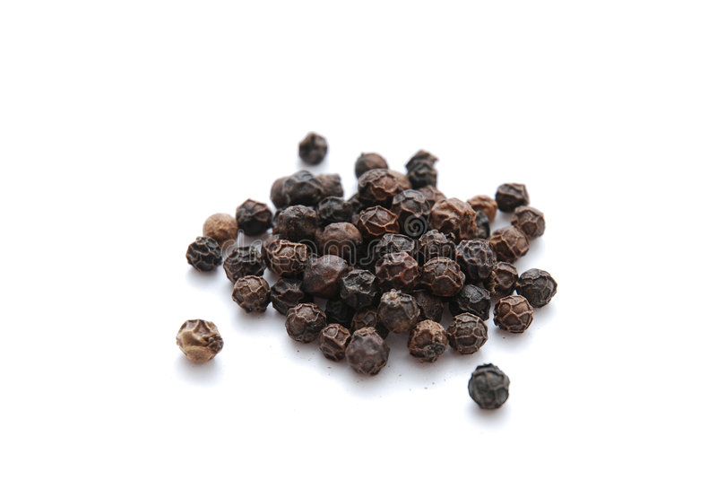 Black Pepper stock photography