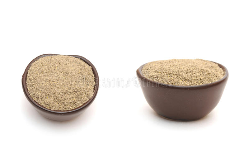 Download Black Pepper  In A Clay Bowl Stock Image - Image: 23683809