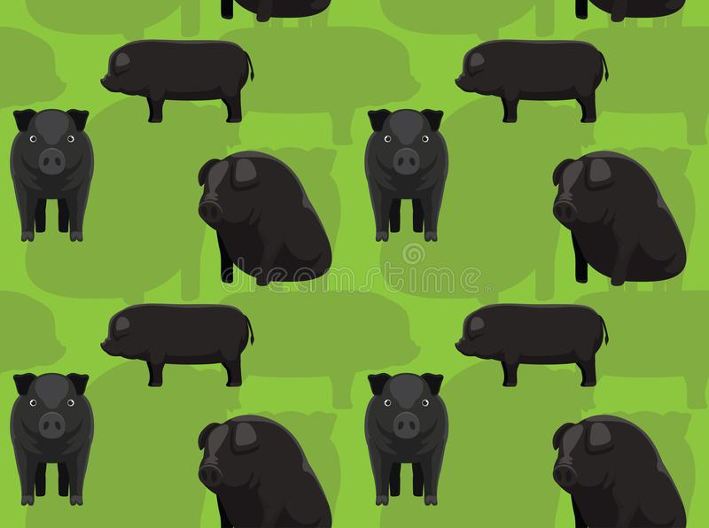 Mulefoot Pig Stock Illustrations 4 Mulefoot Pig Stock