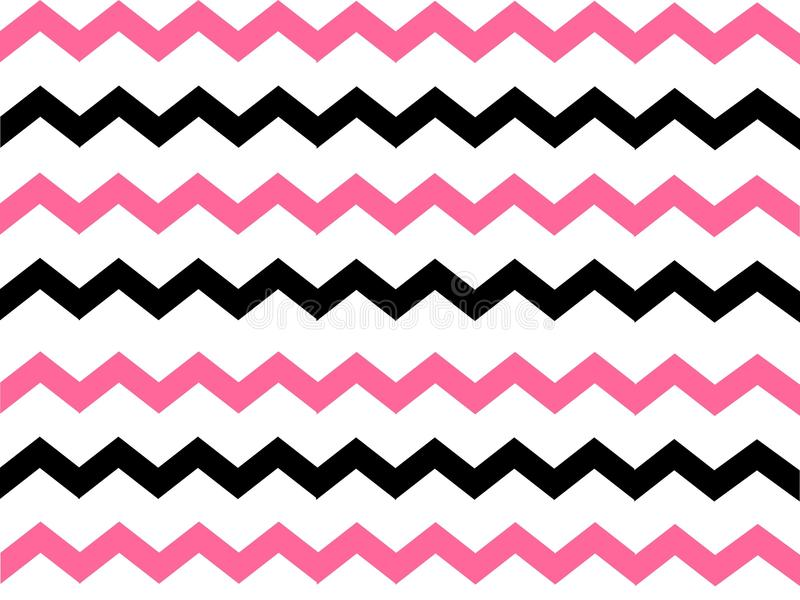 Pink And Purple Chevron Background