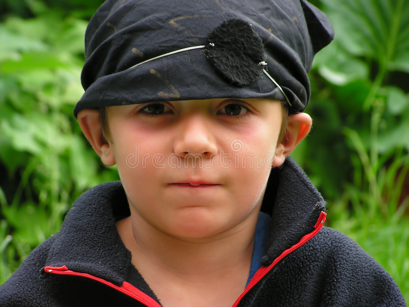 Download Black pirate stock photo. Image of nature, play, dressed - 186356