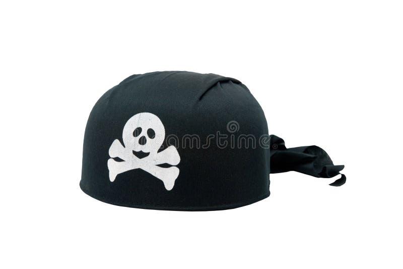 Black Pirate Hat royalty free stock photos