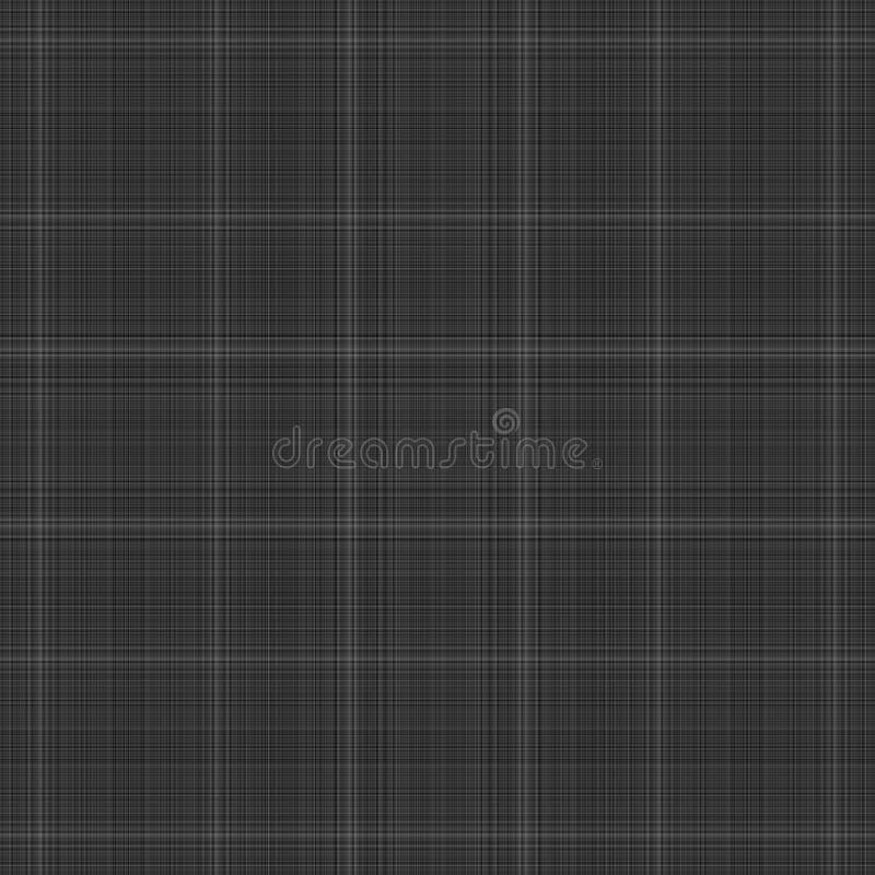 Black plaid stock photo
