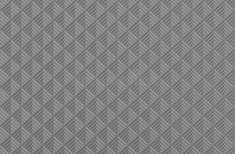 Black polish square texture. Repeat background royalty free stock photography