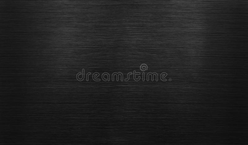 Black polished aluminum background stock images