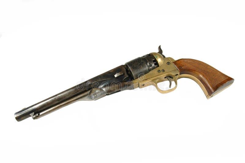 Black powder revolver royalty free stock images