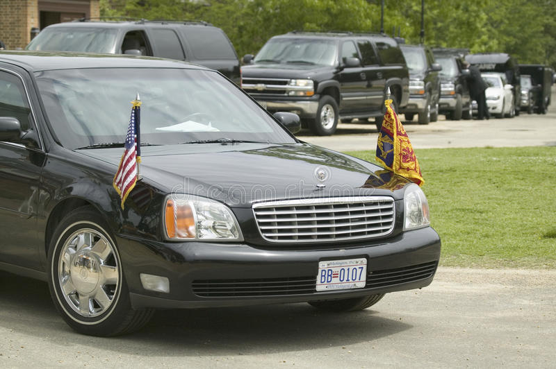 Download Black Presidential Limo editorial photography. Image of nobody - 27072007