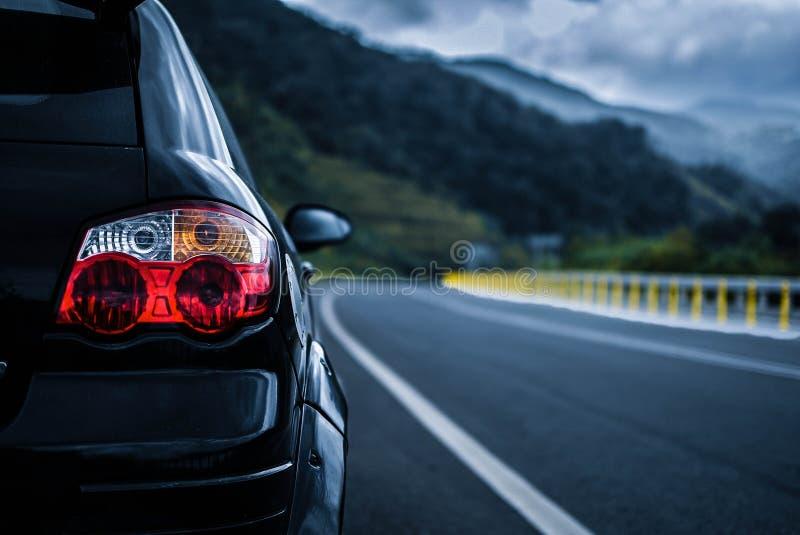 Black Proton Satria Neo CPS stock photography