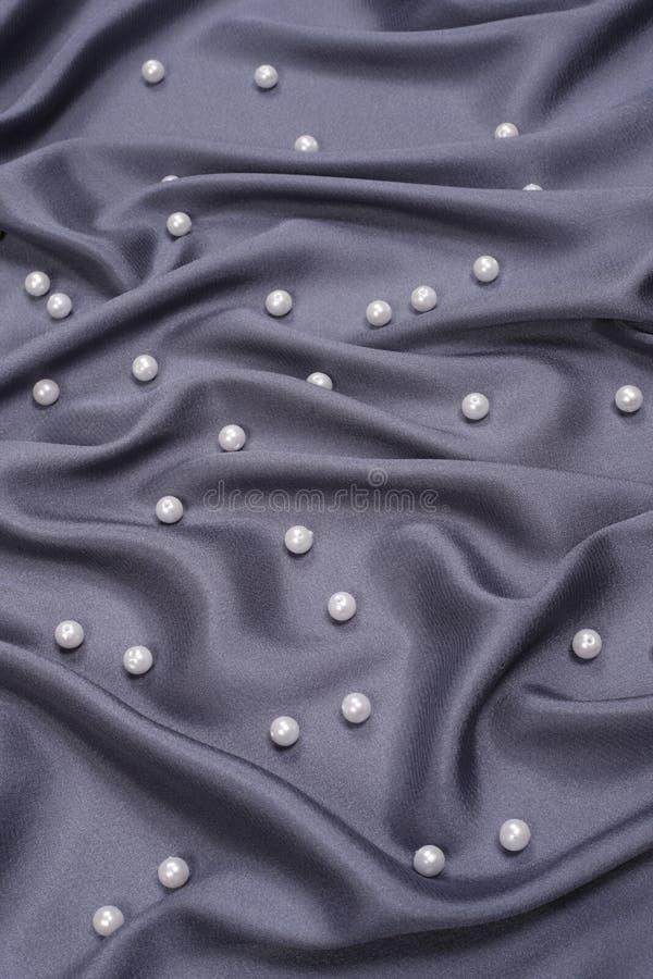 black pryder med pärlor satäng arkivfoton