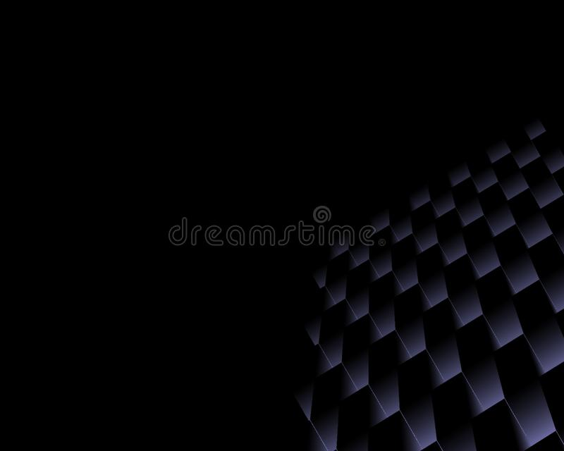 Black and purple abstract background for desktop wallpaper or website design, template with copy space for text.- Illustration.  royalty free illustration
