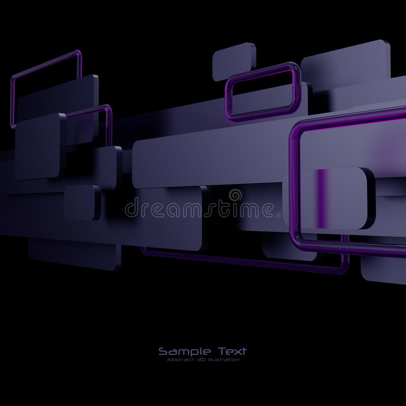 Download Black, Purple And Pink Abstract Background Stock Illustration - Image: 23873021