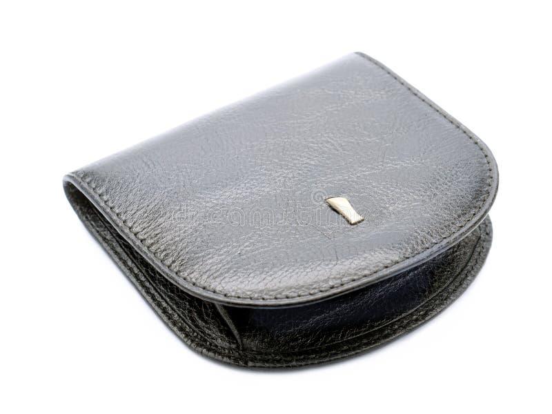 Black purse royalty free stock photos