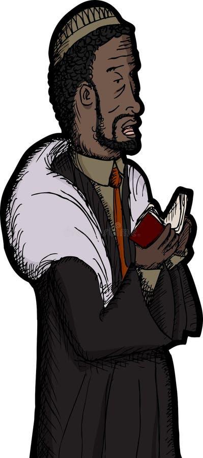 Download Black Rabbi Praying Stock Photography - Image: 26986552