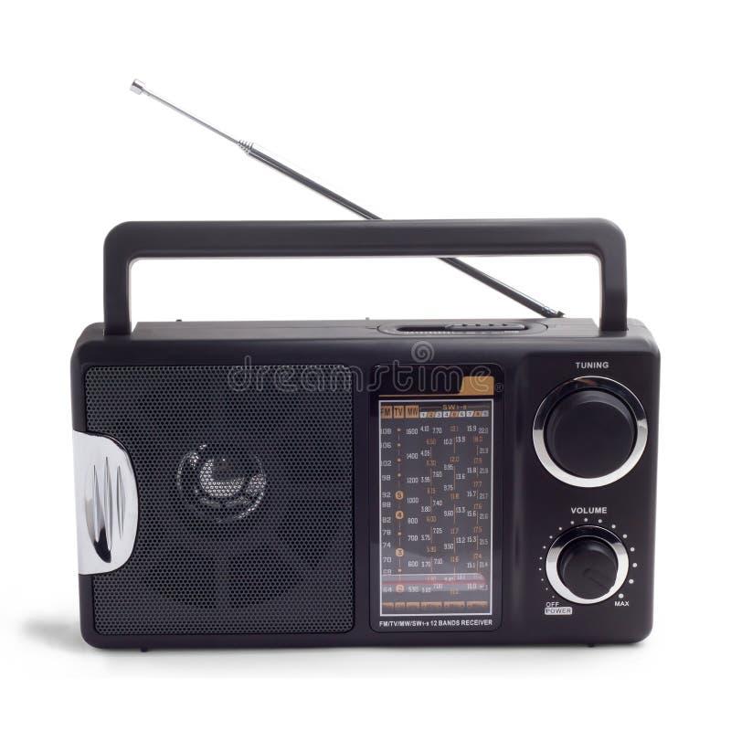 Black radio royalty free stock images