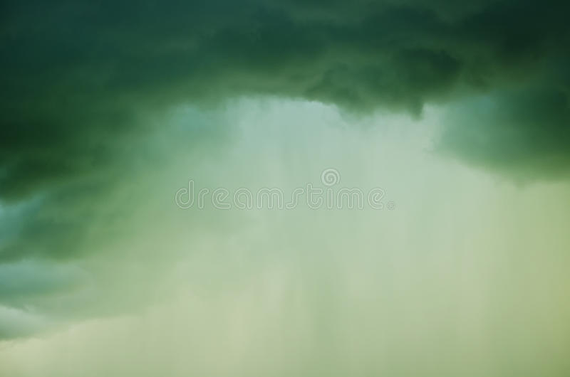 Black rainy cloud stock images