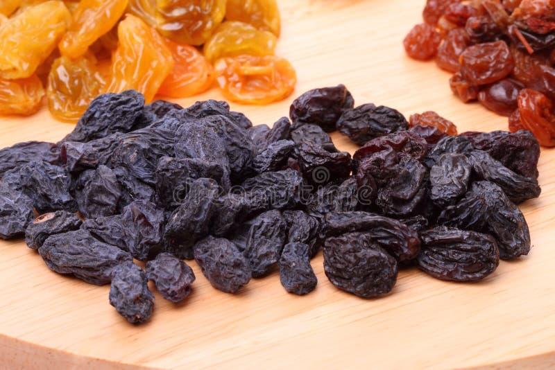 Black Raisins Stock Photo