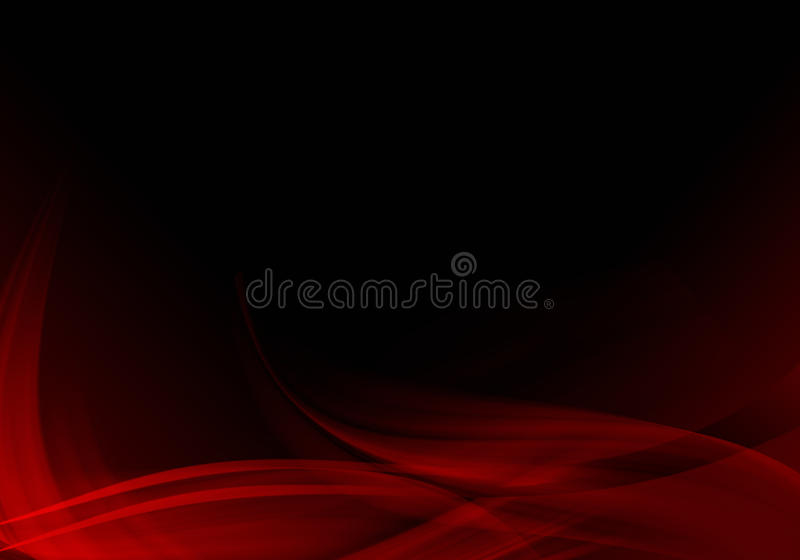 Black and red abstract background. stock illustration