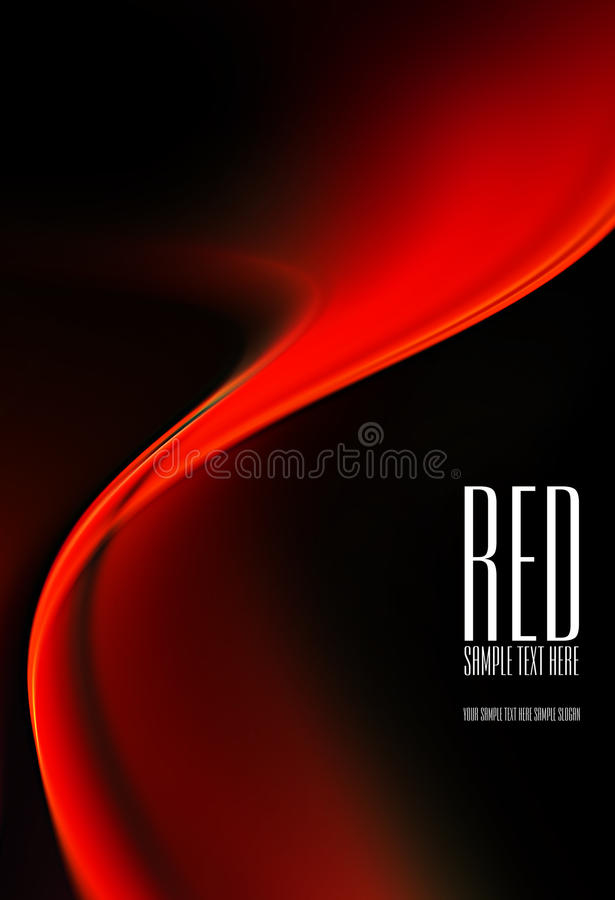 Black and red background royalty free illustration