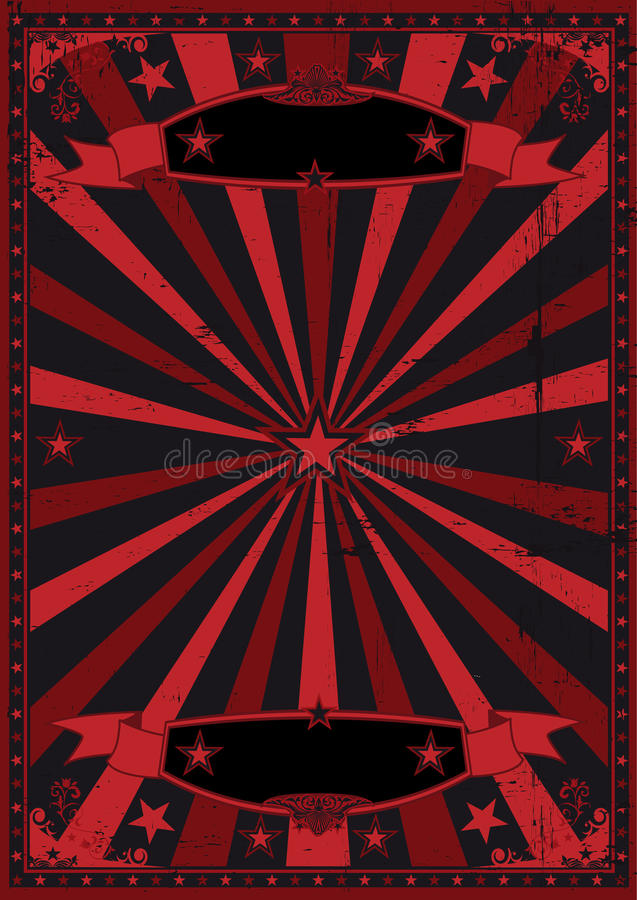 black and red grunge background stock vector - image: 49376694