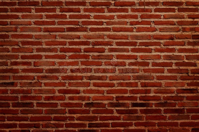 Black and red grunge brick wall texture background with old dirty and vintage style pattern stock image
