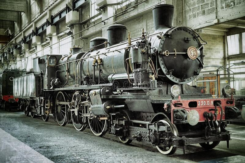 Black and Red Metal Train stock photos