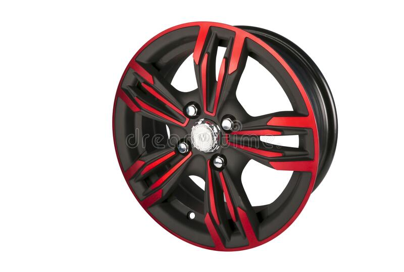 Black And Red Tire Rim Free Public Domain Cc0 Image