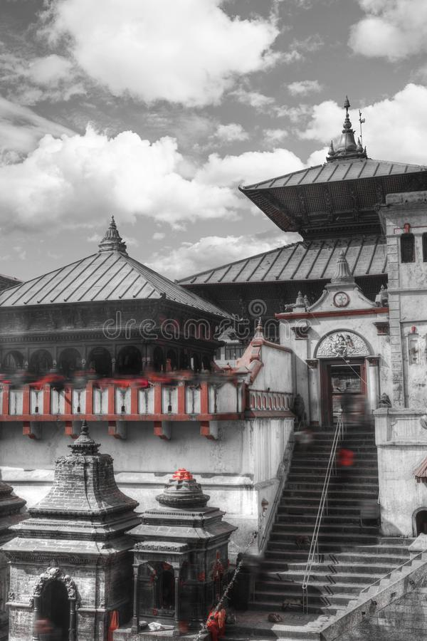 Pashupatinath Temple royalty free stock images