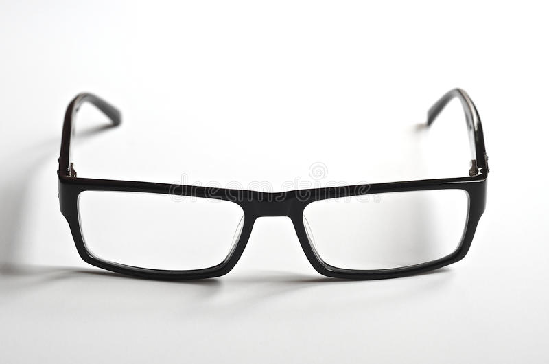 Download Black Rimmed Reading Glasses Stock Photo - Image: 32652244