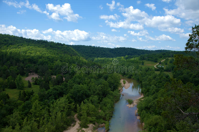 The Black River royalty free stock photo