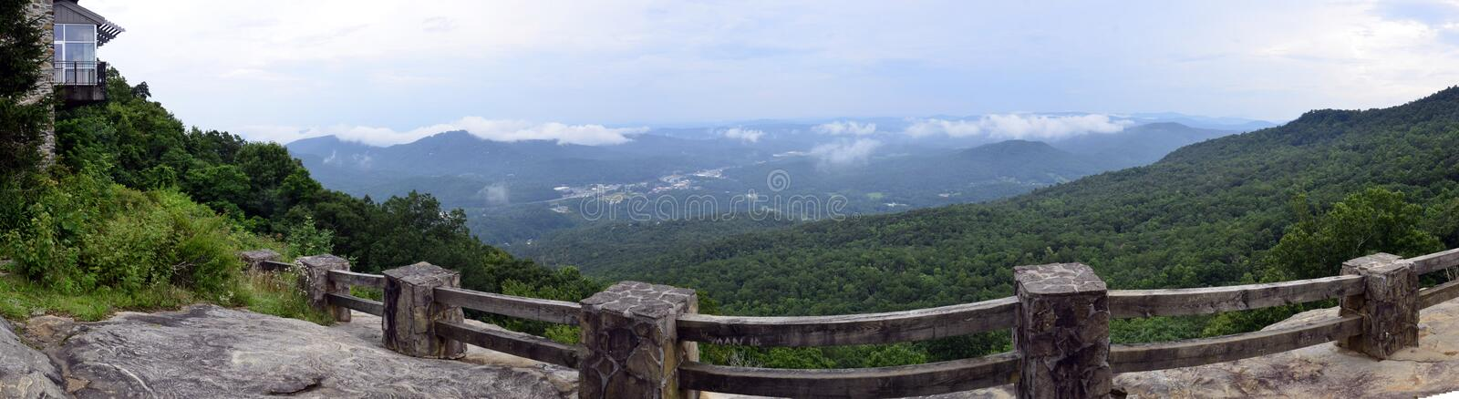Black Rock Mountain State Park Georgia overlook royalty free stock images