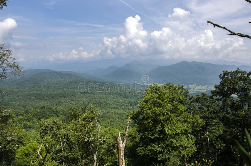 Black Rock Mountain State Park Georgia overlook royalty free stock image