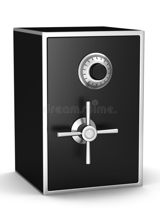 Black Safe Royalty Free Stock Photos