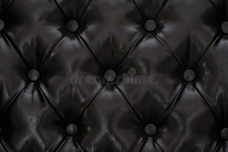 Black sample of an upholstery of a sofa royalty free stock photography