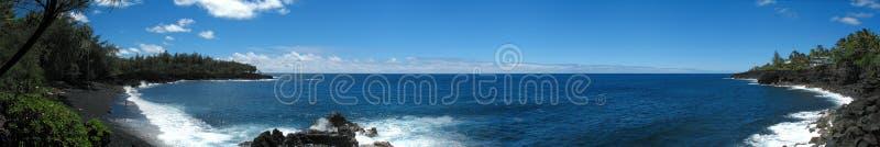 Download Black Sand Beach Hawaii stock image. Image of blue, lava - 3169807