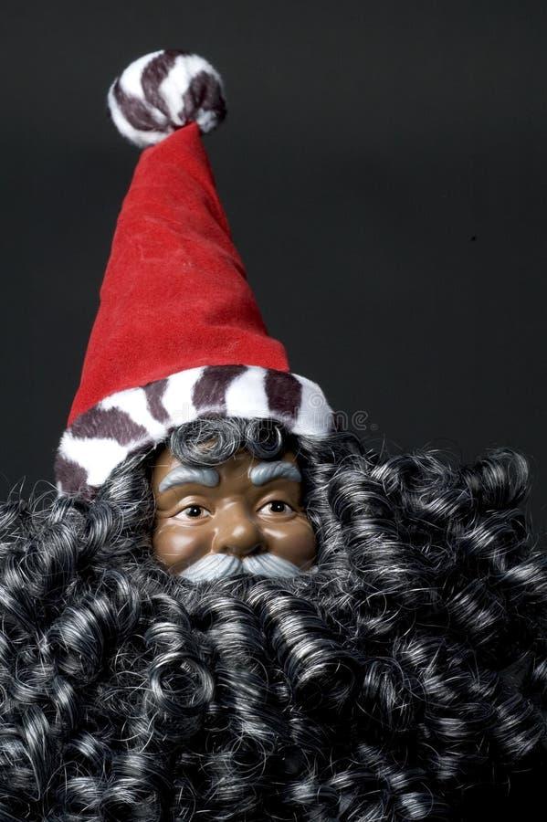 Download Black santa claus stock photo. Image of negro, seasonal - 1373834