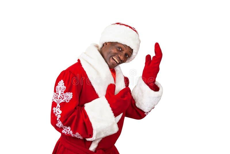 Funny Santa Claus Dancing Babbo Natale Stock Photo - Image