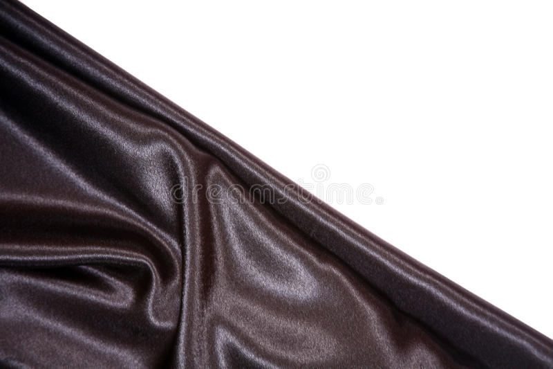 Black Satin Royalty Free Stock Photography