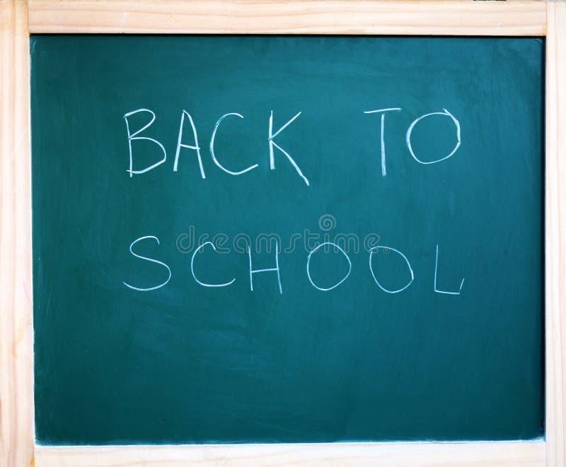 Black school chalkboard background for September 2019. royalty free stock photo