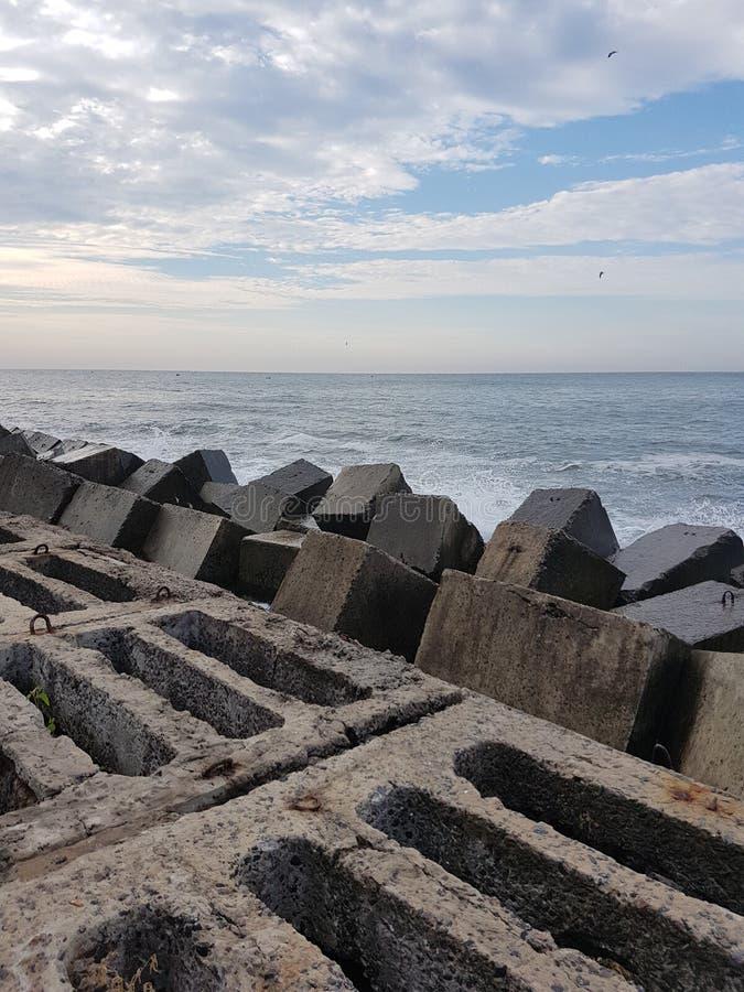 Black Sea royaltyfri foto
