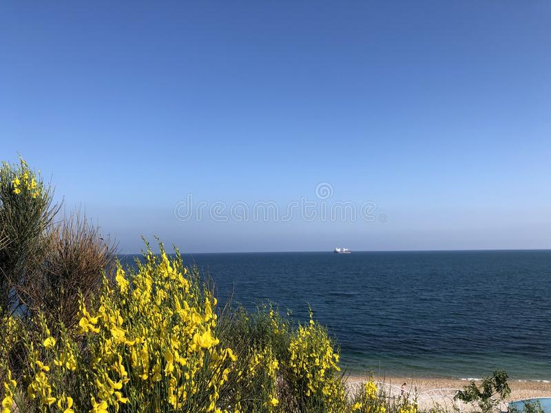 Black Sea royaltyfria bilder