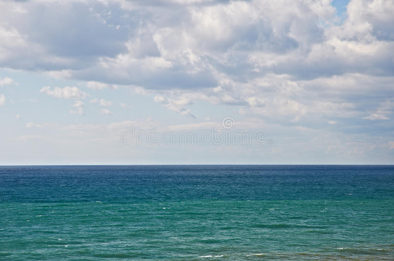 Black sea in Anapa, Russia. N Federation royalty free stock images