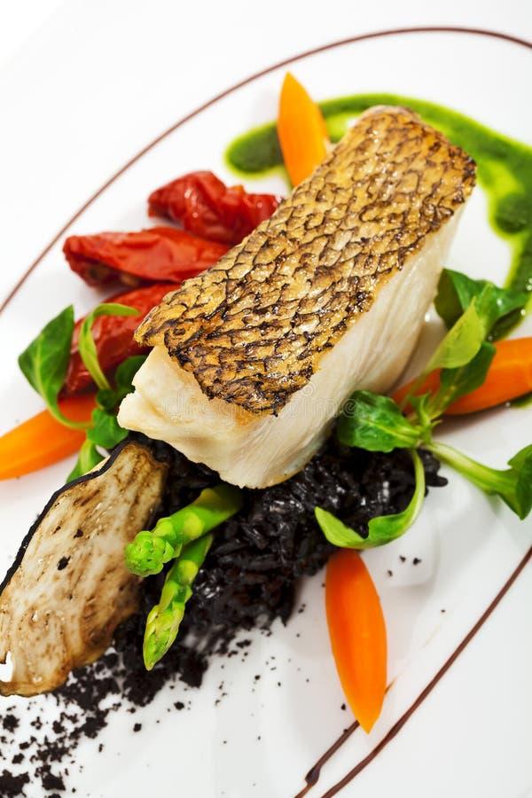Black Sea Bass royalty free stock photo