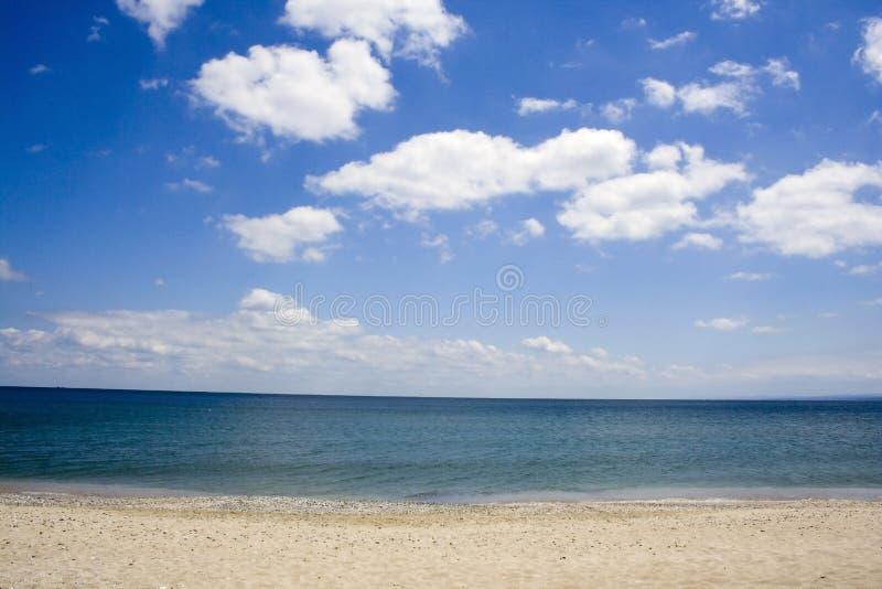 Black sea beach royalty free stock photos