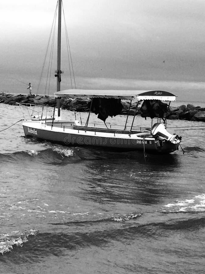 Black sea romania stock photo